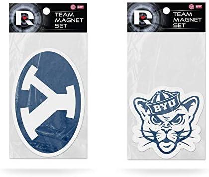 Rico Industries 2-Pack Die Cut Team Logo Magnet Set