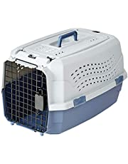 AmazonBasics 19-Inch Two-Door Top-Load Pet Kennel