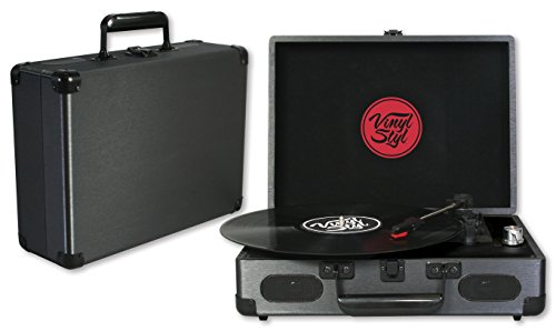 Vinyl Styl Groove Portable 3 Speed Turntable