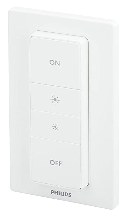 Smart Philips Hue 473371 Home Hue Smart Dimmer Switch With Remote, 1 OD96