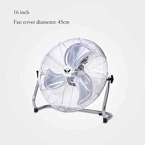 YCSD Standing Gym Fan Floor Standing Fan Industrial Desktop Fan Restaurant Desk Table Fan,Suitable for Many Occasions Safe and Energy Saving (Size : 16 inches (45 cm))