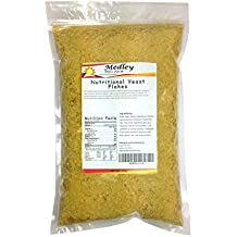 Nutritional Yeast Flakes 1 lb. Vegetarian Support Formula Medley Hills Farm