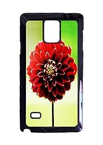 Unique Samsung Galaxy Note 4 Case - Steller Dahlia Photo Image Durable Hard Case Cover Design By Ondone