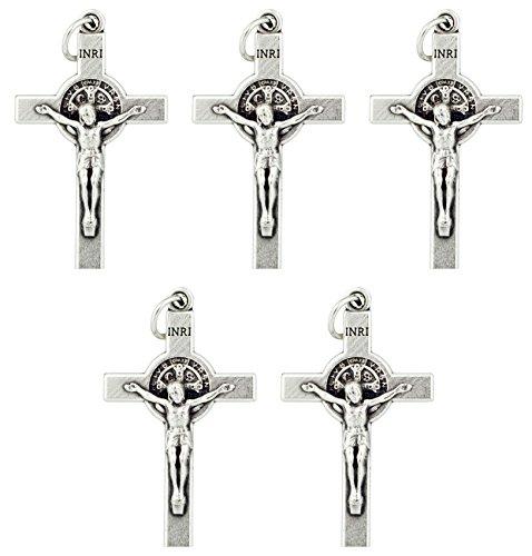 (Saint Benedict Crucifix Pendant (5-Pack))