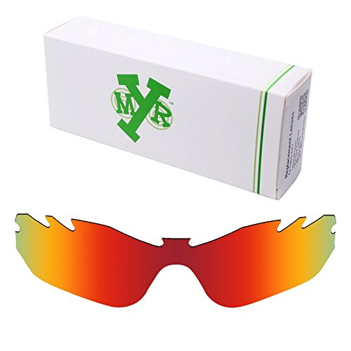 Mryok Polarized Replacement Lenses for Oakley Radar Edge Vented - Fire - Radar Xl Oakley Lenses