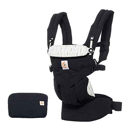 Ergobaby All-in-One Newborn Ready Omni 360 Baby Carrier, Downtown