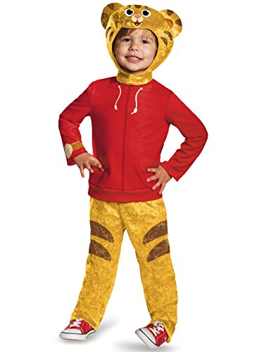 Daniel Tiger's Neighborhood Daniel Tiger Classic Toddler Costume, Medium/3T-4T