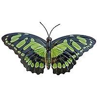 Primus Grand vert métal jardin papillon décoration murale