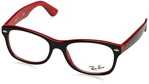 Optical frame Ray Ban Acetate Black - Red (RY1528 - Red Black Ray Bans And