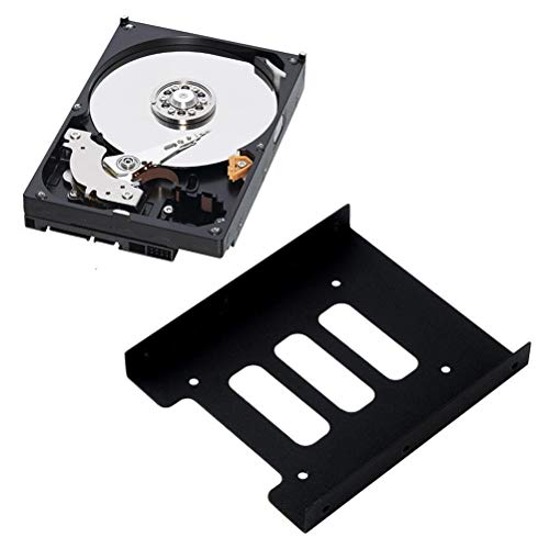CLIENSY 2.5'' to 3.5'' SSD HDD Metal Adapter Mounting Bracket Hard Drive Holder for PC by CLIENSY (Image #2)