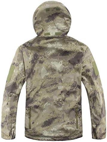 Mdsgfc Veste softshell pour homme et femme Motif camouflage MKBK.