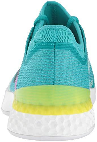 4dd76525aac785 ... adidas Men's Adizero Ubersonic 3 Tennis Shoe, White/Legend Ink/Shock  Yellow, ...