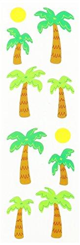 Mrs Grossman Stickers, Palm Trees & Sun