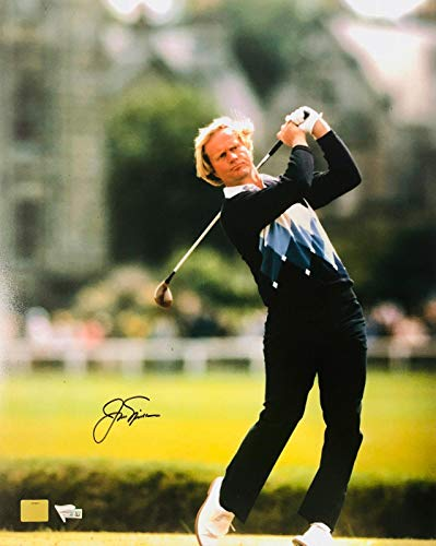 Signed Jack Nicklaus Photograph - 16x20 Swing Shot Fanatics Golden Bear - Fanatics Authentic Certified