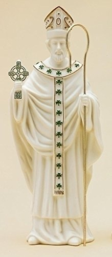 "Roman 8.5"" Porcelain Saint Patrick Irish Collectible Figure"