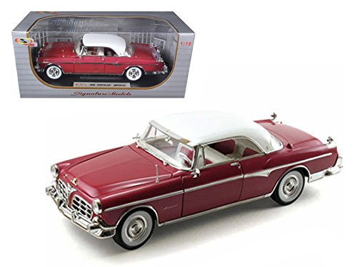 Signature Models 18111 1955 Chrysler Imperial Canyon 1/18 Diecast Car Model ()