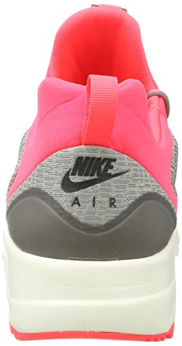 Nike Air Max Motion Racer, Zapatillas Para Hombre, Gris (Dust/Black-Cobblestone-Solar Red-Sail), 40 EU