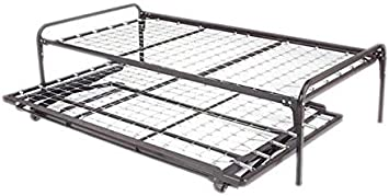 Amazon Com Dream Solutions Metal Day Bed Daybed Frame And Pop