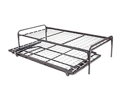 Amazon.com: Dream Solutions Metal Day Bed (Daybed) Frame and Pop up ...