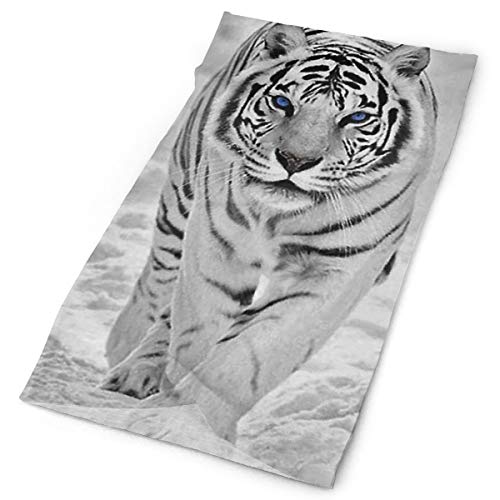 ee3016fe5531a Cool White Tiger King Multifunctional Head Scarf Fashion Helmet Liner  Headwear for Motorcycling Fishing Running Hiking Cycling Cancer Chemo Hair  Loss, ...