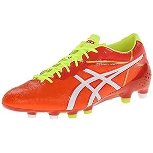 ASICS Men's Ds Light X-Fly 2 MS Soccer Shoe,Orange Red/White,9 M US