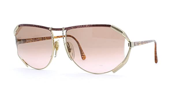 0fae862f7b14 Christian Dior 2609 48 Gold and Red and Pink Authentic Women Vintage  Sunglasses