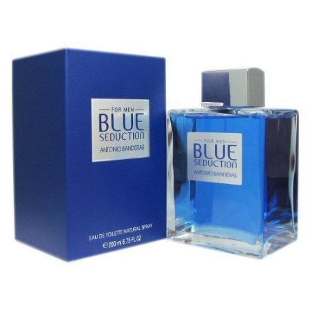 Antonio Banderas Blue Seduction for Men Eau De Toilette Spray, 6.75 Ounce by Antonio Banderas