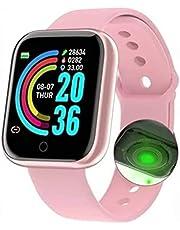 Relogio Inteligente Smartwatch D20 Bluetooth Rose
