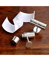 Personalized Secret Message Cuff Links