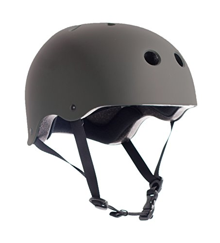 Critical Cycles Classic Commuter Bike and Skate Helmet, Small/Medium, Matte Graphite