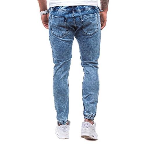 8d922a69da 85%OFF BOLF Hombre Pantalones Jogger Gym Fitness Con Bolsillos OTANTIK 811  Azul S
