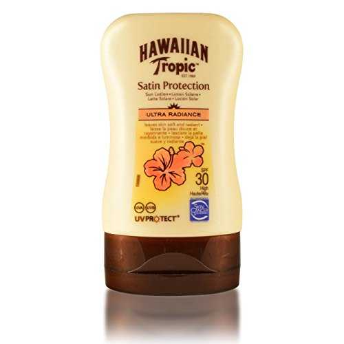 5Pack Hawaiian Tropic Satin Protection Reise-Sonnencreme LSF 30 5x 100ml