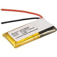 Plantronics Voyager 855 Wireless Headset Battery (Li-Pol, 3.7V, 80mAh) - Replacement Battery for Plantronics HS-DISC655 Wireless Headset battery