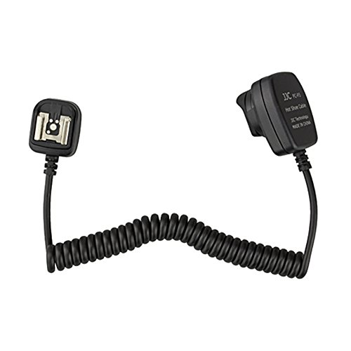 - JJC FC-P3 1.4m TTL Off-Camera Sync Shoe flash Cable Connecting Cord For Pentax K-30 K-5 K-R 645D Camera