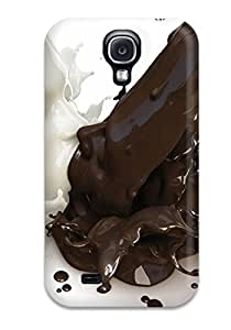 Slim Fit Tpu Protector Shock Absorbent Bumper Artistic Case For Galaxy S4