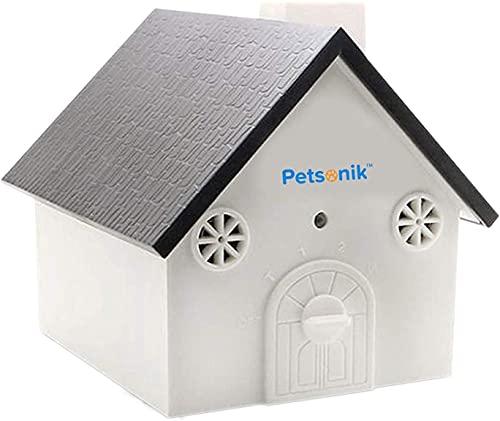 Petsonik No Bark Bird House for Dogs Bird House Dog Barking Deterrent Devices E Book Ultrasonic No Bark Birdhouse…