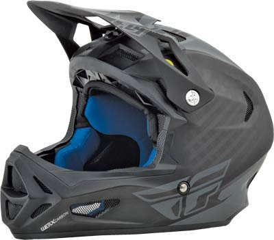 Fly Racing 73-9206L Matte Black//Coal Large WerxRival Graphic Mips