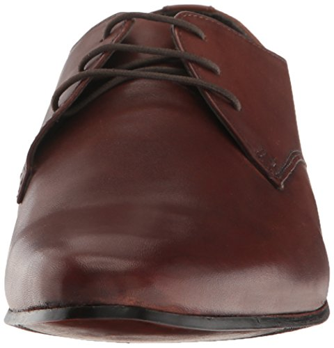 Kenneth Cole Reactie Mens Shop-ping Lijst Oxford Cognac