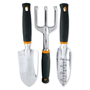 Fiskars 3 Piece Softouch Garden Tool Set (7067)