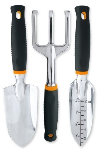 (Fiskars Softouch Garden Tool 3 Piece Set,)