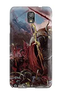 Fashionable LsjXoCW241LAspR Galaxy Note 3 Case Cover For Warhammer Mark Of Chaos Battle March Protective Case