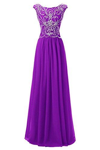 Ivydressing -  Vestito  - linea ad a - Donna Violett 40
