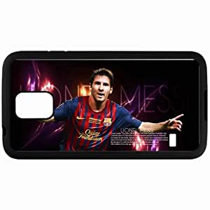 Personalized Samsung S5 Cell phone Case/Cover Skin Messi barcelone Black