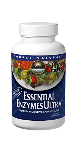 Enzymes Essential 60 Capsules - Source Naturals: Essential EnzymesUltra 60 Vegetarian Capsule