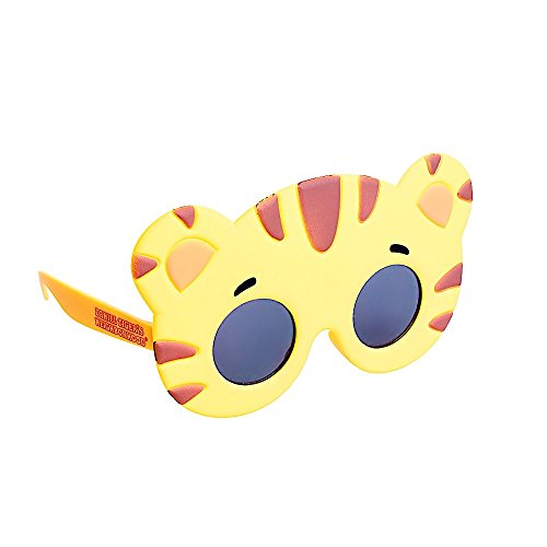 Sun-Staches Costume Sunglasses Lil' Daniel Tiger Party Favors UV400 ()