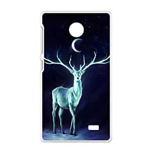 Moon Antelope White Phone Case for Nokia Lumia X wangjiang maoyi