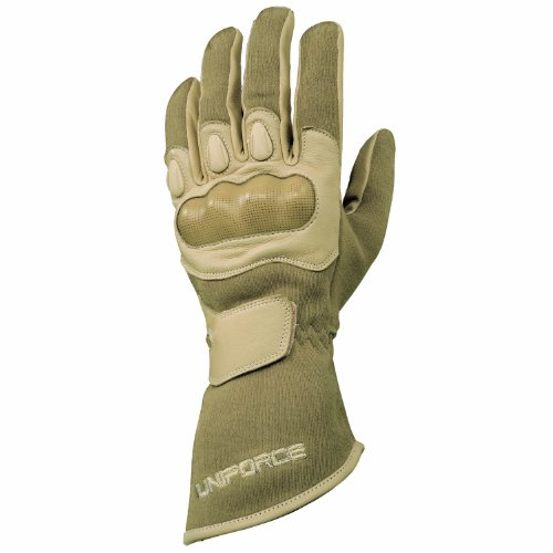 Franklin Sports Special Operations Flash, Cut, Abrasion and Impact Resistant 4-Inch Cuff Tactical Gloves, Desert, (Franklin Flash)