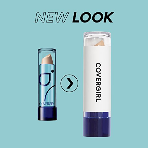 COVERGIRL Smoothers Moisturizing Concealer, 1 Tube (0.14 oz), For Fair Skin Tones, Solid Stick Concealer, Fragrance Free, Moisturizing (packaging may vary)