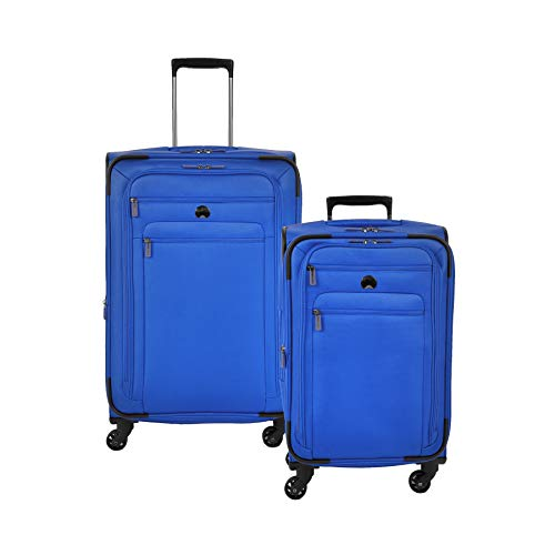 Delsey Paris Luggage Helium Sky 2.0 | Carry-On Exp. Spinner Trolley & 25