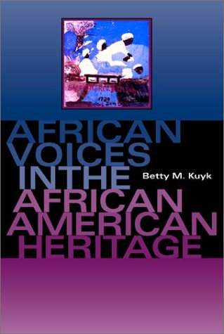 Read Online African Voices in the African American Heritage pdf